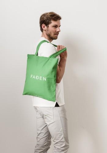Faden Jutebeutel /grün